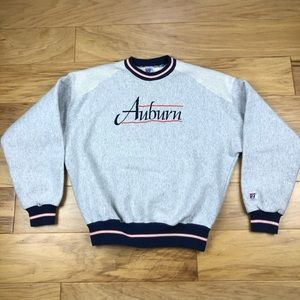 The Game Shirts - Vintage Auburn Tigers Embroidered Sweatshirt
